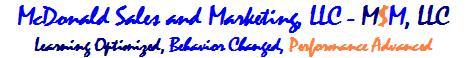 McDonald Sales and Marketing, LLC