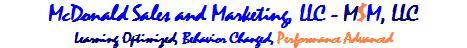 sales training, McDonaldSalesand Marketing, LLC
